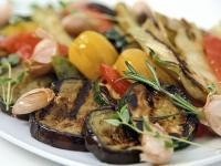 Салат гриль из овощей